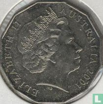 "Australië 50 cents 2001 ""Centenary of Federation - Australian Capital Territory"""