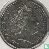 "Australië 50 cents 2001 ""Centenary of Federation - Victoria"""