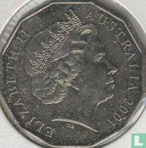 "Australië 50 cents 2001 ""Centenary of Federation - Queensland"""
