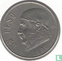 Mexico 1 peso 1980 (open 8)