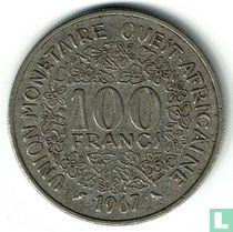 West-Afrikaanse Staten 100 francs 1967