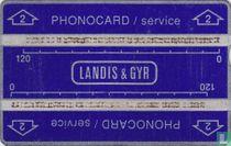 Phonocard service Stu.2