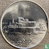 """Malta 2 pounds 1972 """"Fort San Angelo"""""""