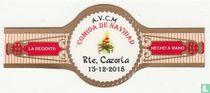 A.V.C.M. comida de Navidad Ret. Cazorla 15-12-2018