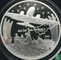 """Frankrijk 10 euro 2018 (PROOF) """"70 years of the Berlin Airlift"""""""
