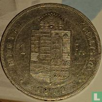 Hongarije 1 forint 1878