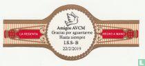Amigos AVCM Gracias por aguantarme