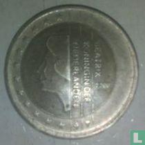 Netherlands 2 euro 2000 (misstrike)