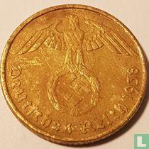 Duitse Rijk 5 reichspfennig 1938 (B)