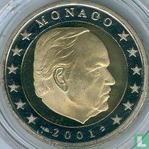Monaco 2 euro 2001 (PROOF)