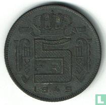 België 5 francs 1945 (FRA)