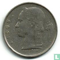 België 1 franc 1958 (NLD)