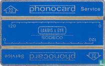 Phonocard service Stu.22