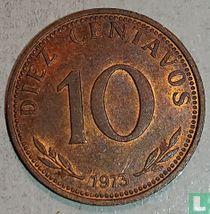 Bolivia 10 centavos 1973