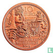 """Austria 10 euro 2019 (copper) """"500th anniversary of the death of Emperor Maximilian I"""""""