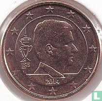 Belgium 1 cent 2014