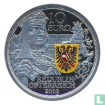 "Austria 10 euro 2019 (PROOF) ""500th anniversary of the death of Emperor Maximilian I"""