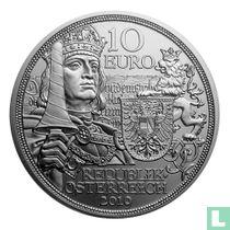 """Austria 10 euro 2019 (silver) """"500th anniversary of the death of Emperor Maximilian I"""""""