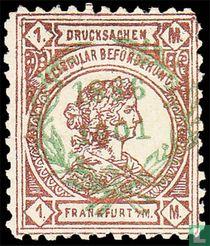 Frankofurtia, mit Aufdruck Kranz & 1896 1901