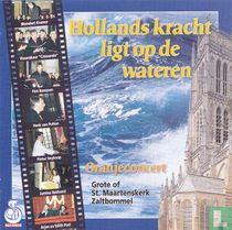 Hollands kracht ligt op de wateren