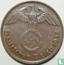 Duitse Rijk 2 reichspfennig 1938 (B)