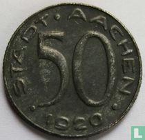 """Aachen 50 pfennig 1920 """"Alfred Rhetel"""""""