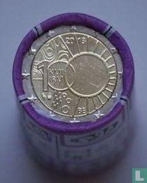"Belgium 2 euro 2013 (roll) ""100 years of Royal Meteorological Institute"""