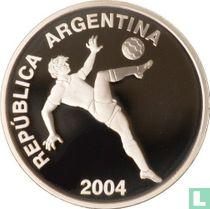 "Argentinië 5 pesos 2004 (PROOF) ""FIFA - XVIII World Footbal Championship - Duitsland 2006"""