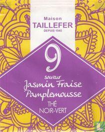9 saveur Jasmin Fraise Pamplemousse