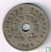Zuid-Rhodesië ½ penny 1934