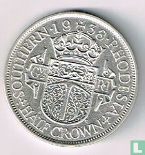 Zuid-Rhodesië ½ crown 1938