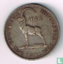 Zuid-Rhodesië 2 shillings 1932