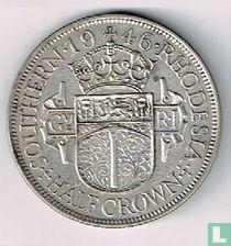 Zuid-Rhodesië ½ crown 1946