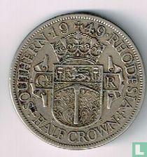 Zuid-Rhodesië ½ crown 1949