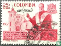 Mgr.Carrasquilla met opdruk Unificado