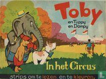 Toby en Tubby en Dompy in het circus