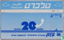 Telecarte 20 units