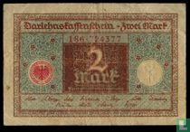 Weimar  2 marks  1920
