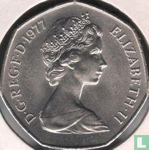 Verenigd Koninkrijk 50 new pence 1977