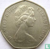 Verenigd Koninkrijk 50 new pence 1970