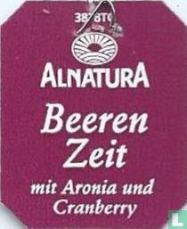 Alnatura Beeren Zeit mit Aronia und Cranberry