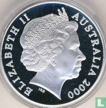 """Australia 5 dollars 2000 (PROOF) """"Paralympic Games in Sydney"""""""