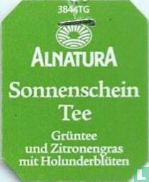 Alnatura Sonnenschein Tee Grüntee und Zitronengras mit Holunderblüten