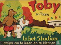 Toby en Tuppy in het Stadion