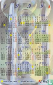 Calendar 1999