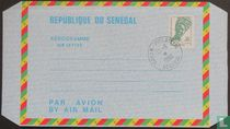 Senegalese elegantie (Aerogramme)