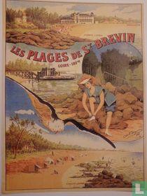 Les Plages de Saint-Brévin - Loire-Inférieure