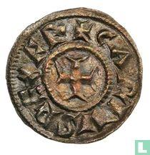 Holy Roman Empire  1 denier (Charlemagne, Milan)  768-814