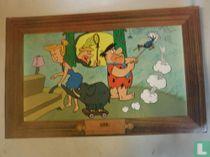 Fred Flintstone lenteschoonmaak