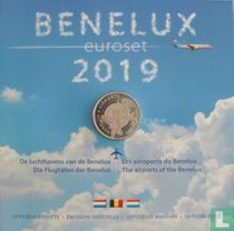 """Benelux mint set 2019 """"The airports of the Benelux"""""""